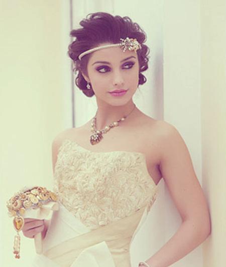 trang điểm cô dâu - cách làm tóc cô dâu đẹp, mẫu tóc đẹp