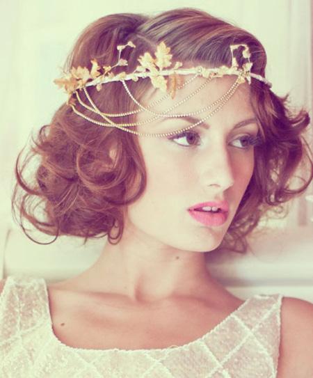 những mẫu tóc cô dâu đẹp, mẫu tóc tém đẹp