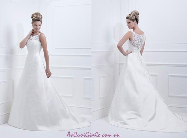 Những mẫu áo cưới đẹp, phần lưng áo cưới, bộ sưu tập áo cưới váy cưới