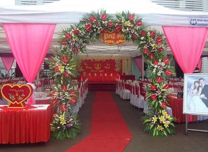 Chuẩn bị cưới, tổ chức đám cưới tiết kiệm giá rẻ ngay tại quê nhà
