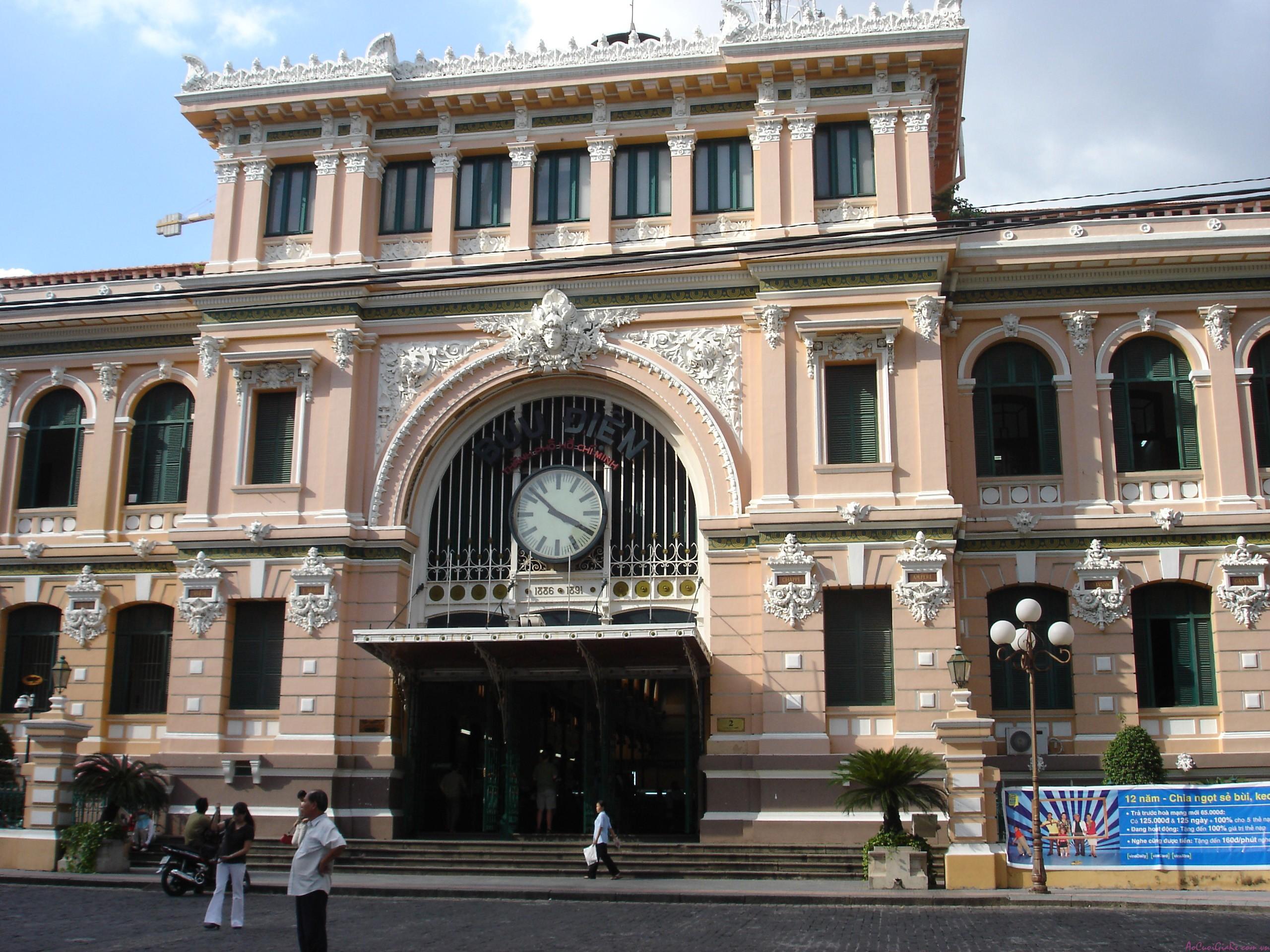 địa điểm chụp hình cưới: Bưu điện trung tâm tphcm
