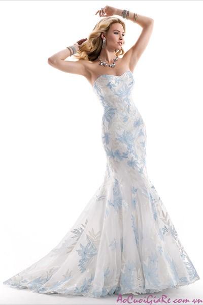 25 mẫu áo cưới, váy cưới đẹp thích hợp cho lễ cưới ở biển