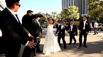 Những kiểu đám cưới vui nhộn, lạ lùng trên thế giới, đám cưới mạo hiểm