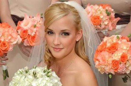 trang điểm cô dâu, trang điểm đẹp tự nhiên