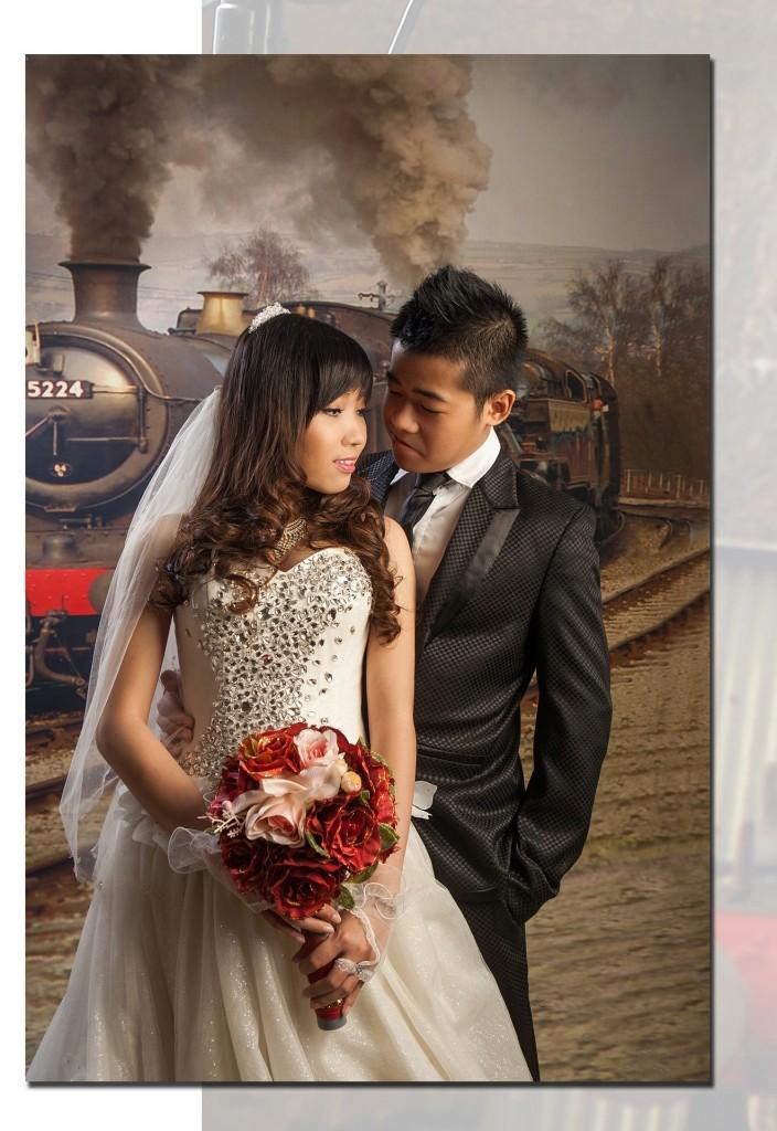 album cưới đẹp của đám cưới sao