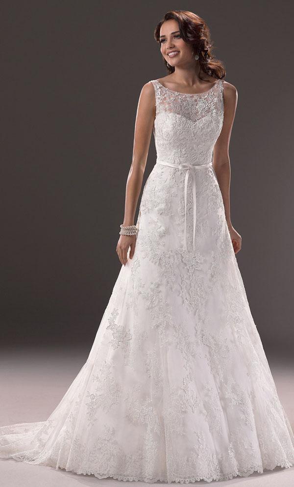 Bộ sưu tập áo cưới đẹp và mới nhất năm 2014 của thương hiệu Maggie Sottero
