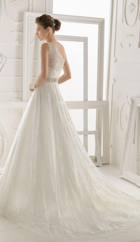 Những mẫu áo cưới đẹp mới nhất 2014 của thương hiệu áo cưới Aire Barcelona