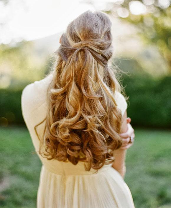 Các mẫu tóc đẹp dành cho cô dâu tóc dài, trang điểm cô dâu, làm tóc cô dâu tphcm