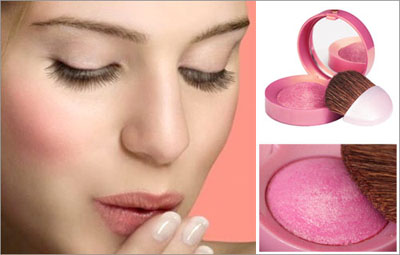trang điểm má hồng cô dâu, phấn má hồng, phấn màu hồng đào